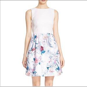 Ted Baker Eliah Scroll dress size 6